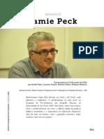 PECK, Jamie - Entrevista