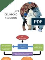 DIMENSIONES DEL HECHO RELIGIOSO