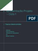 Apresentação projeto editável