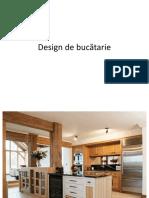Design de Bucatarie