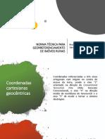 NORMA TÉCNICA PARA GEORREFERENCIAMENTO DE IMÓVEIS RURAIS