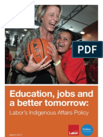 Indigenous Affairs Policy