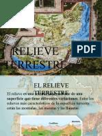 EL RELIEVE TERRESTRE
