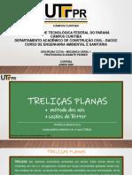 TRELIÇAS PLANAS (PDF)