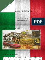 Classe di italiano n.1