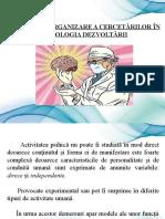 2 Metodele de organizare a cercetărilor în psihologia dezvoltării