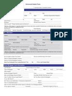 Delaware - Foreclosure Mediation Intake Form