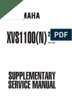 XVS1100 v-Star 1100 (99-00) Service Manual | Carburetor | Headlamp