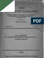 A. Koschewnikoff (Alexandre Kojève) - Die Geshichtsphilosophie Wladimir Solowjews (Sonderabdruck, 1930 - Written in 1926).