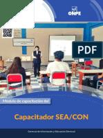 Modulo de Capacitacion Del Capacitador SEA CON EG2021