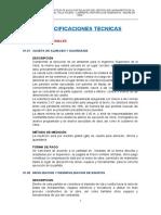 ESPECIFICACIONES TECNICAS xddd