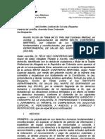 acción de tutela por violación derecho petición acoso laboral