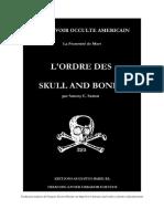 Le Pouvoir occulte américain, l'ordre des Skull and Bones (Anthony C. Sutton 1983)