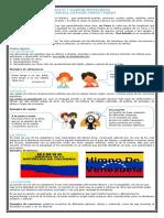 GUIA 3 CLASES DE TEXTOS LIRICOS ADIVINANZAS, CANCIONES, COPLAS, HIMNOS Y POEMAS