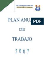 PLAN ANUAL DE TRABAJO 2007- JMA