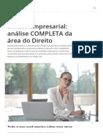 Direito Empresarial_ análise COMPLETA da área do Direito