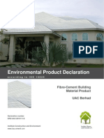 Environmental Product Declaration (UAC)