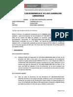 Resolución 17 2021 Sunafil Refrigerio LALEY