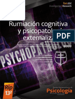 Rumiación Cognitiva