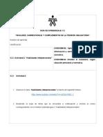 Actividad No. 3 - Sopa de letras Habilidades interpesonales