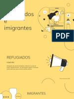 Refugiados e Imigrantes
