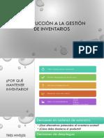 11.INTRODUCCIÓN A LA GESTIÓN DE INVENTARIOS7A
