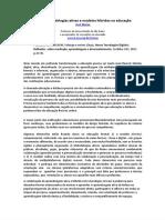 Metodologias ativas e modelos híbridos na educação - Documentos Google