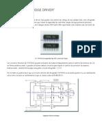 El circuito integrado TA7291S es un driver tipo puente con control de voltajemotoress