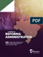 Cadernos Reforma Administrativa 20