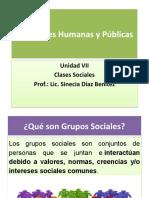 Relaciones Humanas y Públicas - Unidad VII - Clases Sociales