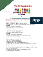 +++++Modelos Lazos de Pompones  Varios Actores