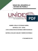 2010-03918p Analisis y Diseño de Sistemas I