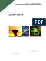 Gsm Questionnaire