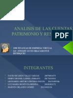 Análisis de Las Cuentas Patrimonio y Resultados UNAH