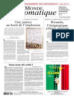 Le Monde Diplomatique - 2021 05