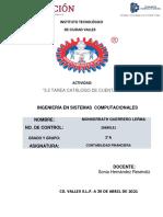 3.2 TAREA CATÁLOGO DE CUENTAS