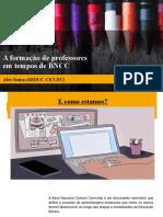 APRESENTAÇÃO UVA_ALUNOS PIBID_FORMAÇÃO DE PROFESSORES_