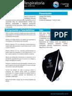 Ficha Tecnica Proteccion Respiratoria 3 Niosh n95 Con Valvula Negro