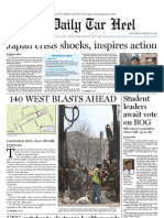 The Daily Tar Heel for March 16, 2011