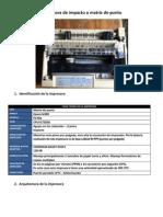 Los 3 tipos mas comunes de impresora, ejemplos y descripciones
