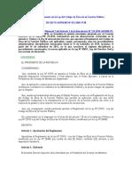 Reglamento de la Ley del Código de Ética de la Función Pública