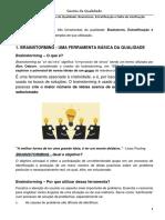 Aula 13 Ferramentas Da Qualidade Brainstorm, Estratificação e Folha de Verificação