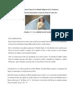 Charla 3 La Libertad de Maria