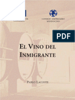 Vino Del Inmigrante