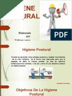 charla de higiene postural