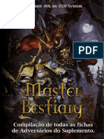 D20-Master Bestiary Para Warhammer 40k