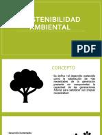 Unidad 1 Introduccion a la sostenibilidad ambiental