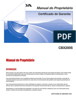 CBX 200S Strada 2002