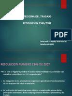 1. M del T Res. 2346 (2021)