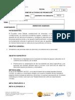 General Vernaza- Diciembre- Derechos y Deberes -Juan Tituana